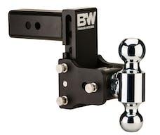 B&W Towing TS20037B 2.5 Model 8 Blk T&S Dual Ball