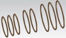 "Cometic Gasket C5393 Damper O-Ring Rebuild Kit. 6"" 3 Ring Design"