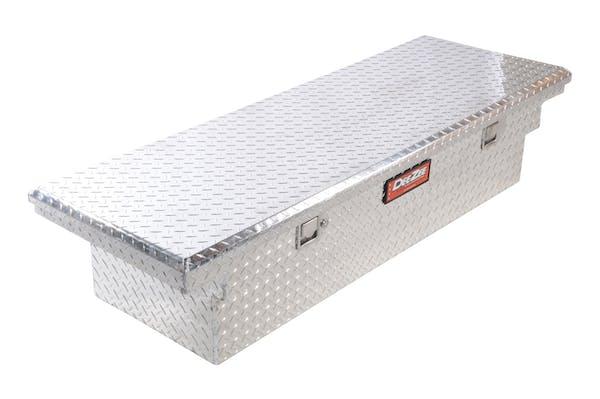 Dee Zee DZ8170L Tool Box, Red Crossover Single Lid BT Alum