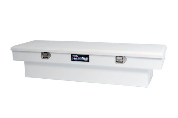 Dee Zee DZ8160S Tool Box, Hardware Crossover Single Lid White