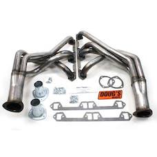 """Doug's Headers D104-R 1 7/8"""" 4-Tube Full Length Header Raw Steel"""