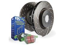 EBC Brakes S10KF1001 DP2100+GD203
