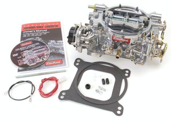 Edelbrock 1400 CARB PERF 600 CFM ELECTRIC SATIN