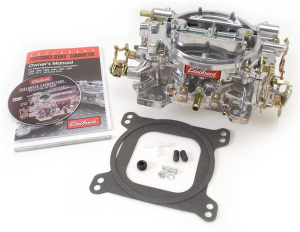 Edelbrock 1404 CARB PERF 500 CFM MANUAL SATIN