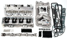 Edelbrock 2099 PWR PKG TOP END KIT SBC RETRO-FIT HYD ROLLER CAMSHAFT PRE 87 BLOCKS 435 HP