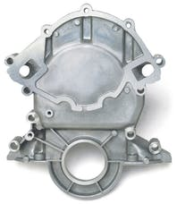Edelbrock 4251 Aluminum Timing Cover