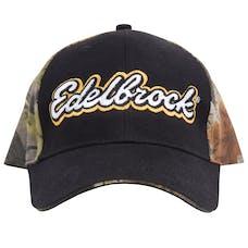 Edelbrock 9161 Cap, Camo/Black/Gold