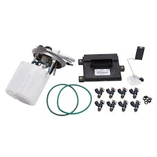 Edelbrock 15672 SUPPLEMENTAL FUEL PUMP KIT 07-09 6.0/6.2L GM SUV LONG WHEEL BASE
