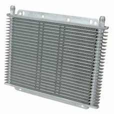 "Flex-A-Lite 400123 Transmission Oil Cooler, 11"" X 7-7/8"" X 3/4"", 23 Row, 3/8"" BARB"