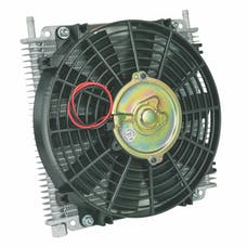 "Flex-A-Lite 600029 Transmission Oil Cooler, 11"" X 9-41/64"" X 3/4"", 29 Row, 3/8"" BARB"