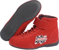 G-FORCE Racing Gear 0235030RD GF235 MIDTOP SHOE SFI 3.3/5 3 RED