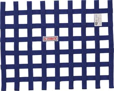 G-FORCE Racing Gear 4131BU RIBBON WINDOW NET SFI 27.1 BLUE