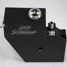 Granatelli Motorsports 500201BL 2014-18 Coolant Expansion Tank and Reservoir  - Black Wrinkle Finish with Logo - Black Wrinkle Finish with Logo - Fits all CTS, ATS and Camaro.  All Engines