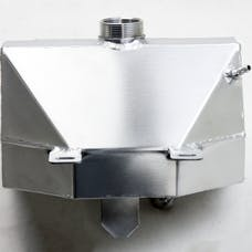 Granatelli Motorsports 510101-S 2015-18 Coolant Expansion Tank with Built in Overflow Catch Can, Radiator 2015-2 2015-2017 Mustang V8, V6, EcoBoost and Shelby GT350, Aluminum Satin Finish