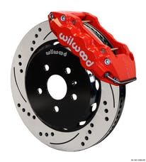"Granatelli Motorsports G140-11269-DR Big Brake,Front Kit 14.25"" Drilled Red-Reqs G220-11382 Lines, Granatelli/Wilwood"