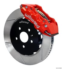 "Granatelli Motorsports G140-11269-R Big Brake,Front Kit 14.25"" Red - Reqs G220-11382 Lines, Granatelli/Wilwood"