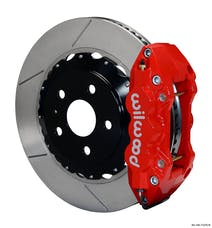 "Granatelli Motorsports G140-11270-R Big Brake, Rear Kit 14.25"" Red - Requires G220-11383 Lines, Granatelli / Wilwood"