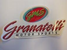 """Granatelli Motorsports GRN-DECAL9 Decal, """"GMS"""", 8.5""""W x 3.5""""T"""