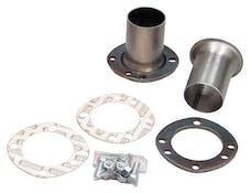 """Hedman Hedders 21102 3"""" UNI-FIT Flange Hedder Reducers; 2-1/2"""" Exhaust System; Universal Fit Flange"""