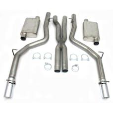 "JBA Performance Exhaust 40-1601 40-1601 3"" Stainless Steel Exhaust System 06-10 Dodge SR"