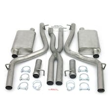 """JBA Performance Exhaust 40-1666 40-1666 2.5"""" Stainless Steel Exhaust System 08-12 Dodge"""