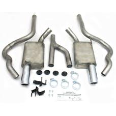 "JBA Performance Exhaust 40-2630 40-2630 2.5"" Stainless Steel Exhaust System 05-10 Mustan"