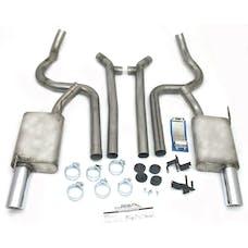 "JBA Performance Exhaust 40-2631 40-2631 2.5"" Stainless Steel Exhaust System 05-10 Mustan"