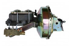 LEED Brakes 1E1A3 9 in Power Booster ,1-1/8in Bore, side valve disc/disc (Zinc)