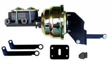 LEED Brakes A81 8 in Dual Power Booster , 1-1/8in Bore Master