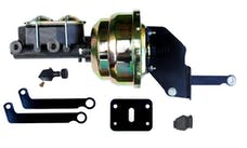 LEED Brakes A8105 8 in Dual Power Booster , 1-1/8in Bore Master w/ adj Prop Valve