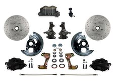 LEED Brakes BFC1003-305X Front Disc Brake Kit - Manual Brakes - Black - MaxGrip