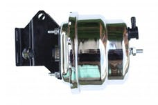 LEED Brakes ET 7 in Dual Power Booster with bracket  (Chrome)