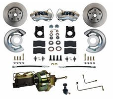 LEED Brakes FC0001-H405A Power Front Disc Brake Conversion Kit- Automatic Transmission