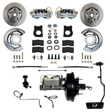 LEED Brakes FC0002-3405A Power Front Disc Brake Conversion Kit - Automatic Transmission