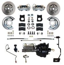 LEED Brakes FC0002-X405M Power Front Disc Brake Conversion Kit - Manual Transmission