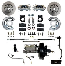 LEED Brakes FC0003-3405A Power Front Disc Brake Conversion Kit - Automatic Transmission