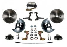 LEED Brakes FC1002-3A3 Manual Front Disc Conversion Kit Disc/Disc Bottom Mount