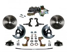 LEED Brakes FC1002-E1A3 Power Front Disc Kit - 9 in - Disc Disc - Zinc