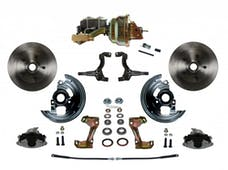 LEED Brakes FC1002-M1A3 Power Front Disc Kit - 8 in - Disc Disc - Zinc