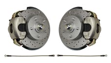 LEED Brakes FC1002SMX Front Disc Brake Conversion - Spindle Mount Kit - MaxGrip