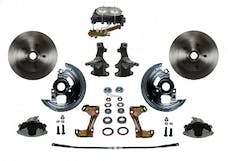 LEED Brakes FC1003-3A1 Manual Front Disc Conversion Kit - Disc/Drum
