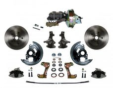LEED Brakes FC1003-E1A1 Power Front Disc Kit - 9 in - Disc Drum - Zinc