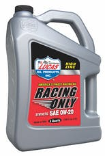 Lucas Oil 10372 Synthetic SAE 0W-20 Racing Only