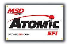 MSD Performance 9424 Banner, MSD Atomic, 5'x3'