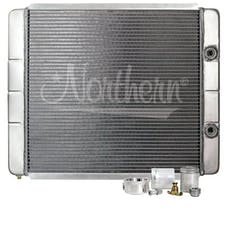Northern Radiator 204102BC 24 X 19 Overall With High Flow Oil Cooler