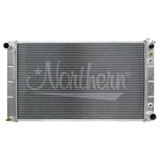 Northern Radiator 205026 Muscle Car Radiator - 33 x 18 3/8 x 3 1/8