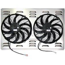 Northern Radiator Z40010 Dual 12 Inch Fan/Shroud Combo