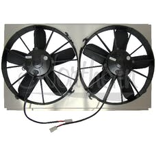 Northern Radiator Z40101 Dual 12 Inch High CFM Electric Fan