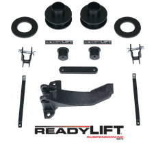 ReadyLift 66-2516 2.5'' Front Suspension Leveling Kit with Track Bar Bracket