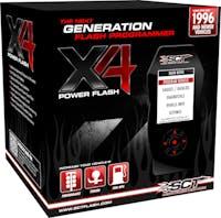SCT 7015 X4 POWER FLASH PROGRAMMER; PRE-LOADED;